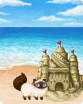 Beach Going Kitty