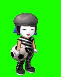 mime soccer playe