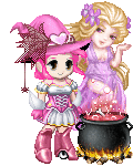the pink witch