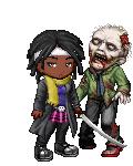 Michonne from Walking Dead
