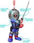 Grey Fox aka Cyborg Ninja