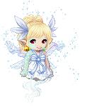 Blue winter fairy