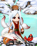 White Kitsune