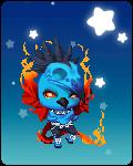 Flaming Bluebird