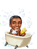 Rub A Dub Dub Obama In The Tub