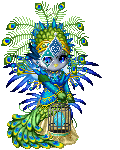 Rare Peacock