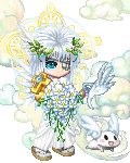 Behind angelic bl