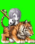 A chick, A tiger,