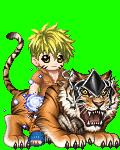 Naruto on a Tiger