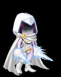 Raven in white