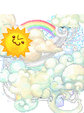 Forecast: sunny and cloudy