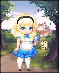 Cartoon Alice in