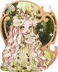 Springtime forest princess