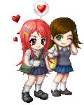 School girls in L