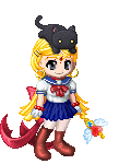 sailor moon and l