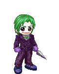 joker with jacket