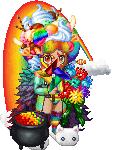Rainbow girl of t