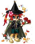 Autumn cat-witch
