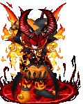 The demon of halloween