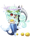 Demon eyed  mermaid