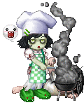 zombie cook out