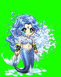 Cute Blue Mermaid