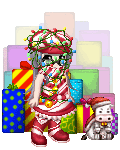 Candy cane person