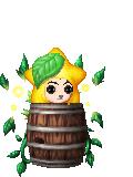 Paopu Fruit on a Barrel